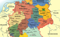Уровень экономического развития Германии: промышленность, экономические центры